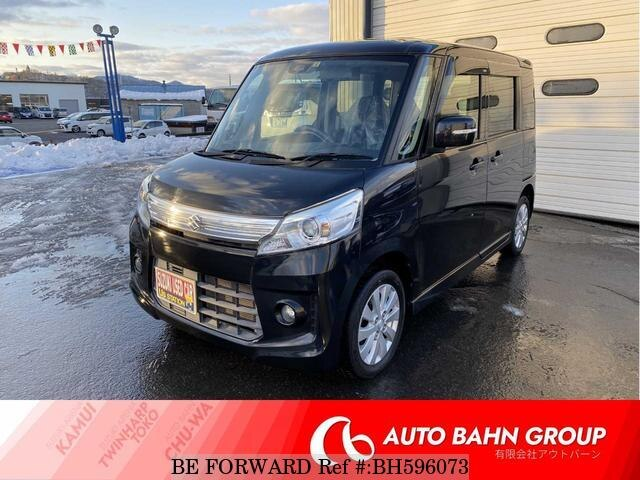 Used 2014 SUZUKI SPACIA BH596073 for Sale
