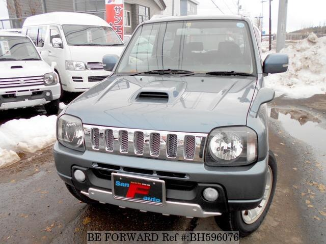 Used 2004 SUZUKI JIMNY BH596076 for Sale
