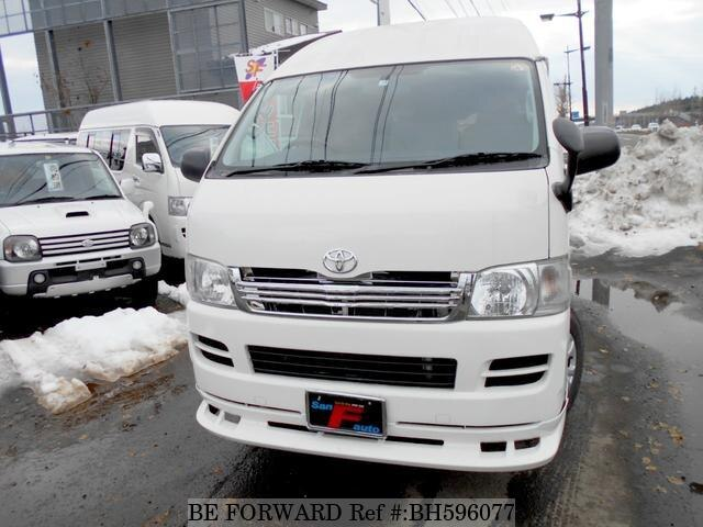 Used 2008 TOYOTA HIACE VAN BH596077 for Sale