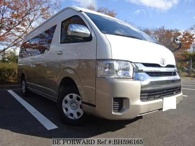 Used 2017 TOYOTA HIACE WAGON BH596165 for Sale