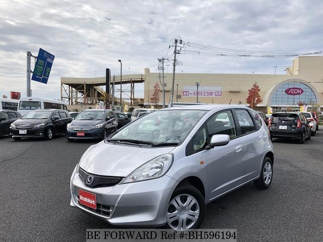 Used 2013 HONDA FIT BH596194 for Sale