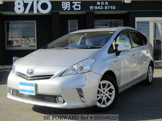 Used 2012 TOYOTA PRIUS ALPHA BH596223 for Sale