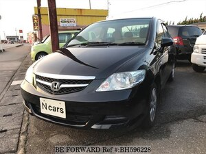 Used 2007 HONDA FIT ARIA BH596228 for Sale