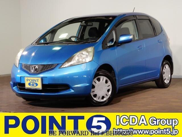 Used 2007 HONDA FIT BH596259 for Sale