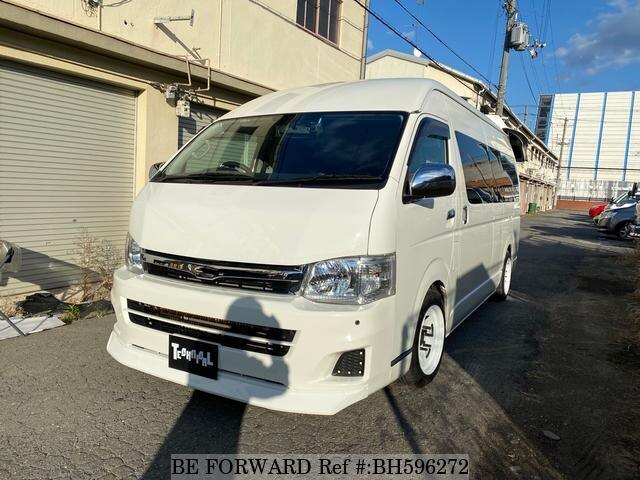 Used 2011 TOYOTA HIACE WAGON BH596272 for Sale