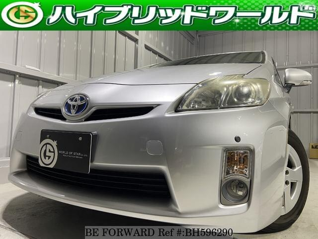 Used 2010 TOYOTA PRIUS BH596290 for Sale