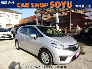 Used 2015 HONDA FIT BH596307 for Sale