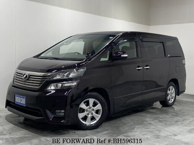 Used 2009 TOYOTA VELLFIRE BH596315 for Sale