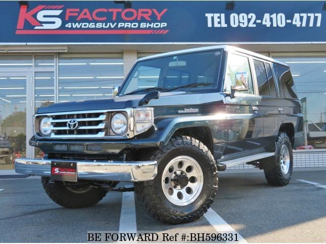 Used 1998 TOYOTA LAND CRUISER BH596331 for Sale