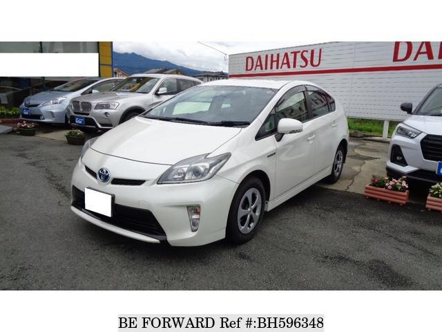 Used 2012 TOYOTA PRIUS BH596348 for Sale
