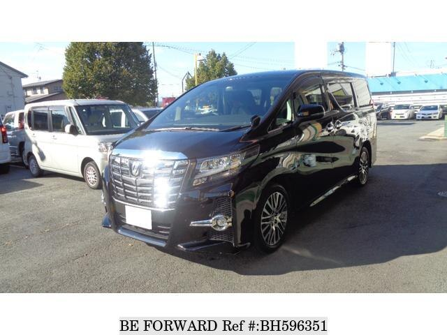 Used 2017 TOYOTA ALPHARD BH596351 for Sale
