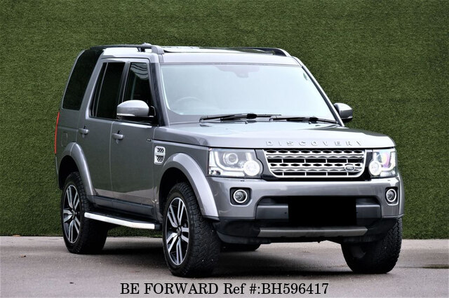 Used 2015 LAND ROVER DISCOVERY 4 BH596417 for Sale