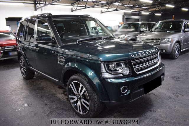 Used 2014 LAND ROVER DISCOVERY 4 BH596424 for Sale