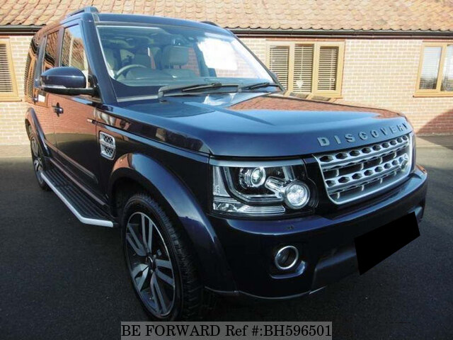 Used 2015 LAND ROVER DISCOVERY 4 BH596501 for Sale