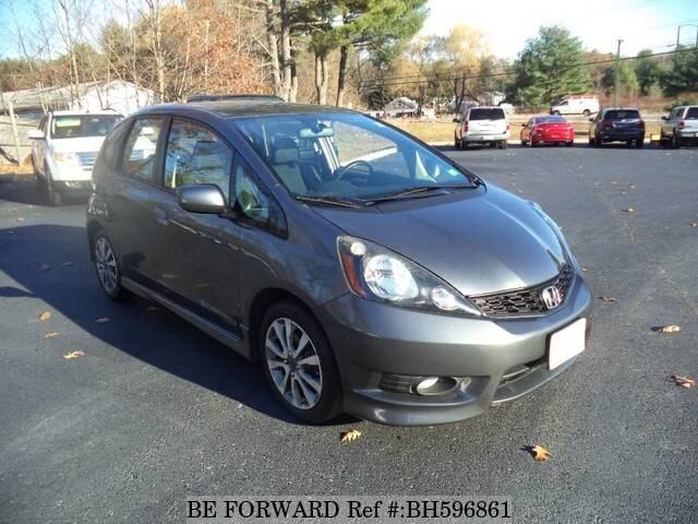 Used 2013 HONDA FIT BH596861 for Sale