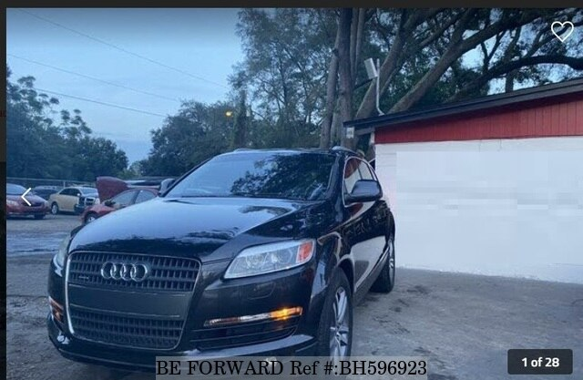 Used 2009 AUDI Q7 BH596923 for Sale