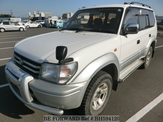 Used 1998 TOYOTA LAND CRUISER PRADO BH594120 for Sale