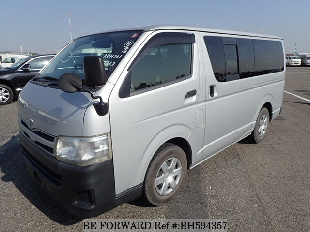 Used 2010 TOYOTA HIACE VAN BH594357 for Sale