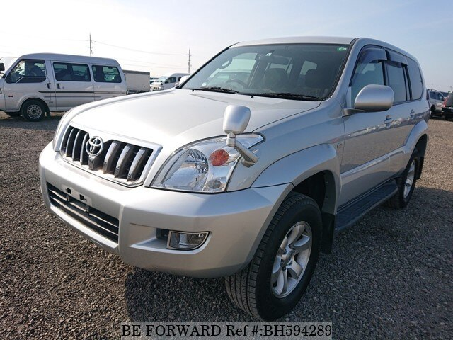 Used 2003 TOYOTA LAND CRUISER PRADO BH594289 for Sale
