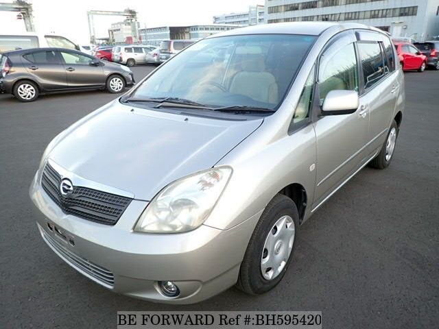 Used 2001 TOYOTA COROLLA SPACIO BH595420 for Sale