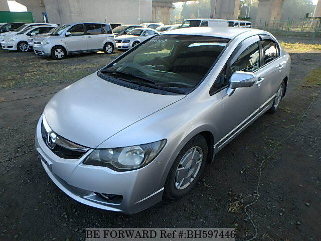 Used 2009 HONDA CIVIC HYBRID BH597446 for Sale