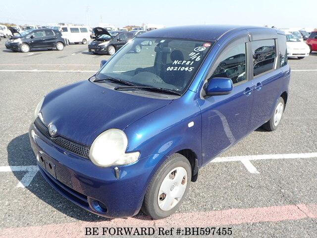 Used 2003 TOYOTA SIENTA BH597455 for Sale