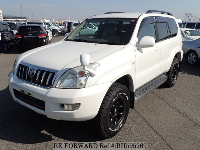 Used 2004 TOYOTA LAND CRUISER PRADO BH595269 for Sale