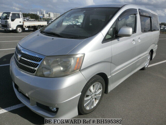 Used 2004 TOYOTA ALPHARD BH595382 for Sale