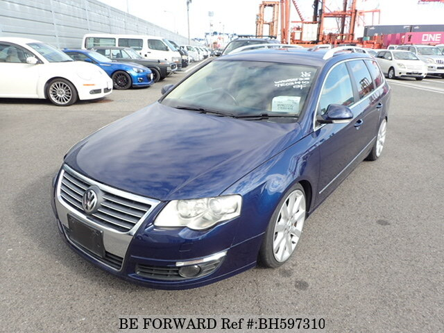 Used 2007 VOLKSWAGEN PASSAT VARIANT BH597310 for Sale