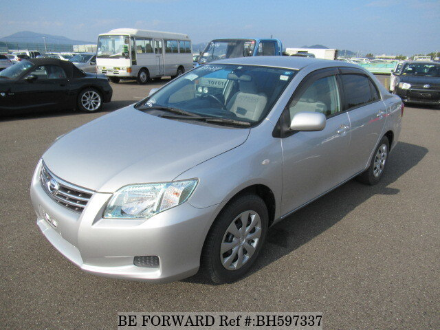 Used 2010 TOYOTA COROLLA AXIO BH597337 for Sale