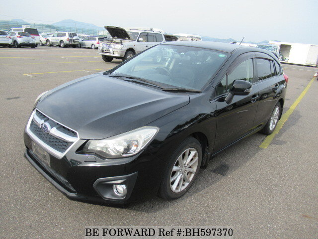 Used 2012 SUBARU IMPREZA SPORTS BH597370 for Sale