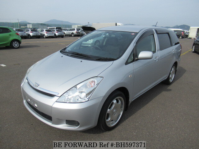 Used 2003 TOYOTA WISH BH597371 for Sale