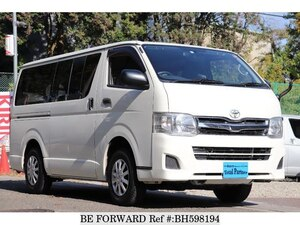 Used 2012 TOYOTA HIACE VAN BH598194 for Sale