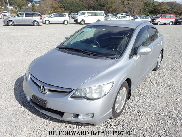 Used 2007 HONDA CIVIC HYBRID BH597406 for Sale