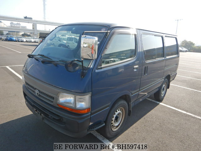 Used 2003 TOYOTA REGIUSACE VAN BH597418 for Sale
