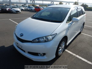 Used 2009 TOYOTA WISH BH597420 for Sale