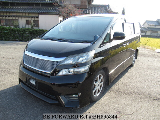 Used 2009 TOYOTA VELLFIRE BH595344 for Sale