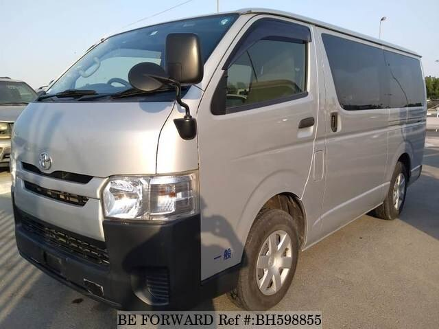 Used 2015 TOYOTA HIACE VAN BH598855 for Sale