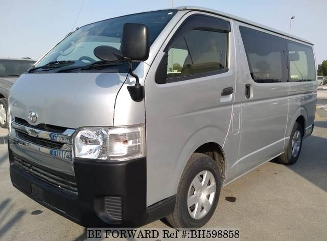 Used 2015 TOYOTA HIACE VAN BH598858 for Sale