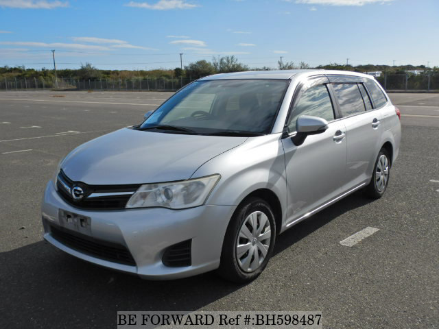 Used 2012 TOYOTA COROLLA FIELDER BH598487 for Sale