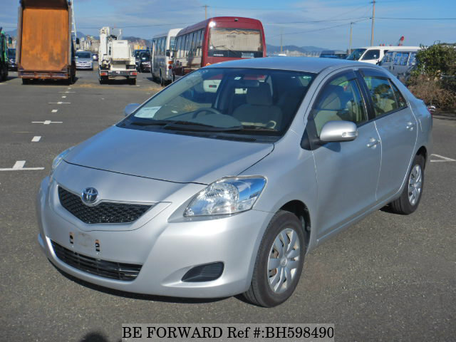 Used 2010 TOYOTA BELTA BH598490 for Sale