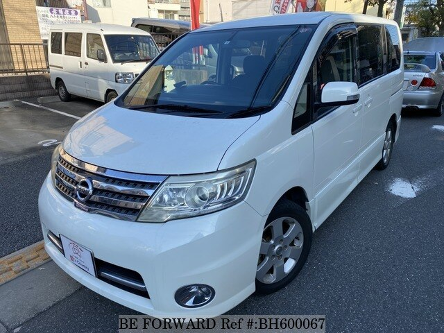 Used 2008 NISSAN SERENA BH600067 for Sale