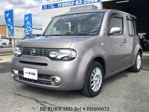 Used 2014 NISSAN CUBE BH600072 for Sale