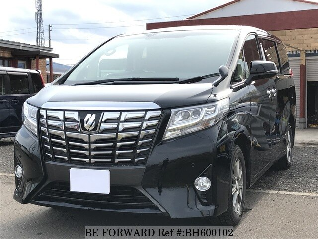 Used 2016 TOYOTA ALPHARD BH600102 for Sale