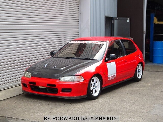 Used 1993 HONDA CIVIC BH600121 for Sale