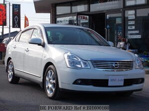 Used 2008 NISSAN BLUEBIRD SYLPHY BH600160 for Sale