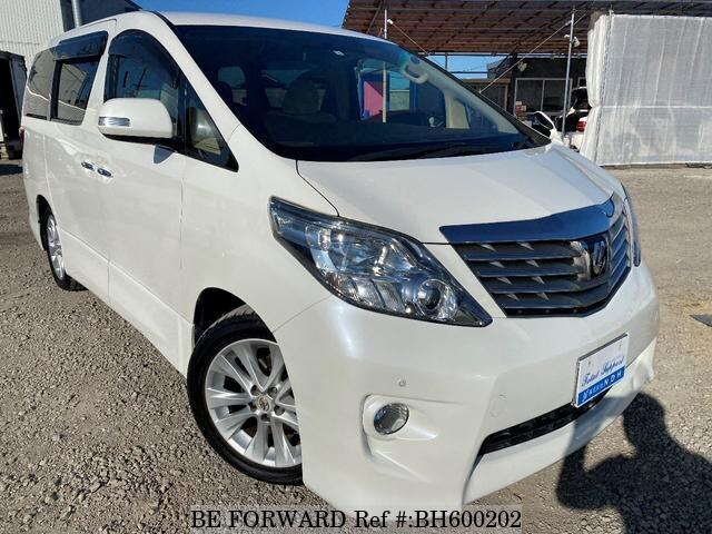 Used 2010 TOYOTA ALPHARD BH600202 for Sale