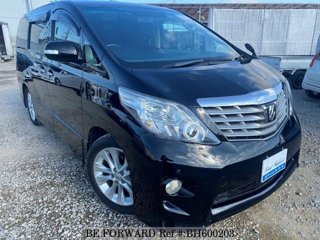 Used 2008 TOYOTA ALPHARD BH600203 for Sale