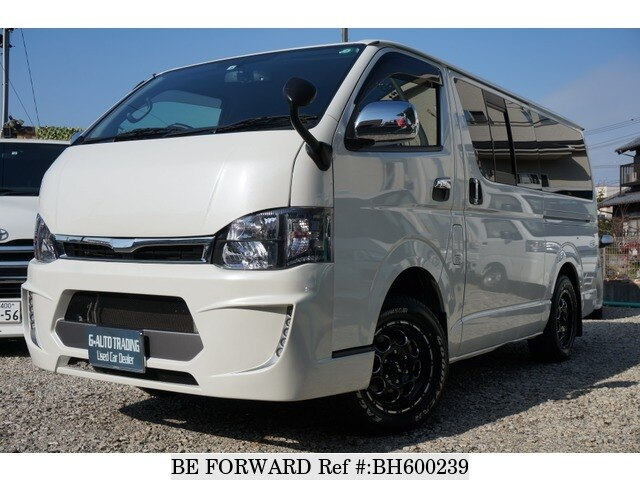 Used 2012 TOYOTA REGIUSACE VAN BH600239 for Sale