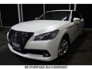 Used 2014 TOYOTA CROWN HYBRID BH600257 for Sale